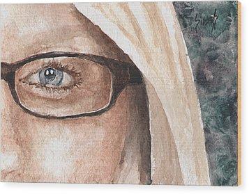 The Eyes Have It - Dustie Wood Print by Sam Sidders