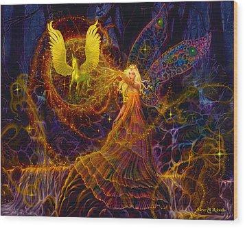 The Fairy Spell Wood Print