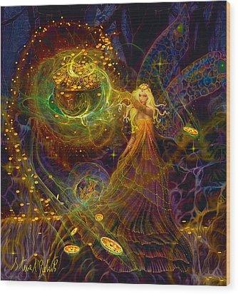 The Fairy Treasure Wood Print