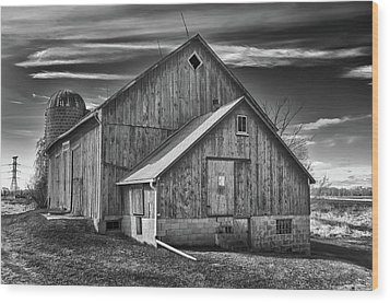 The Fargo Project 12232b Wood Print by Guy Whiteley