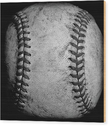 Wood Print featuring the photograph The Fastball by David Patterson