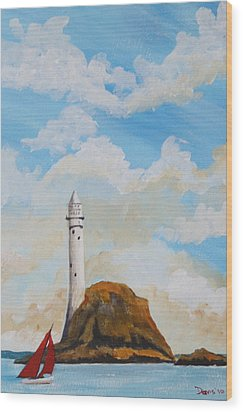 The Fastnet 1 Wood Print