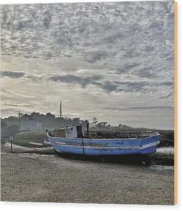 The Fixer-upper, Brancaster Staithe Wood Print by John Edwards
