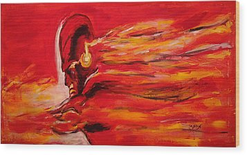 The Flash Comic Book Superhero Character Flash Gordon Lightning In Red Yellow Acrylic Cotton Canvas  Wood Print
