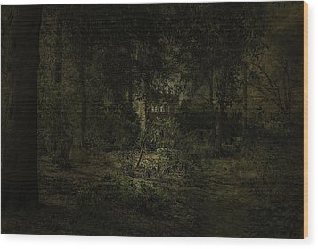 Wood Print featuring the photograph The Folly by Ryan Photography