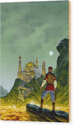 The Forbidden Palace Wood Print by Richard Hescox
