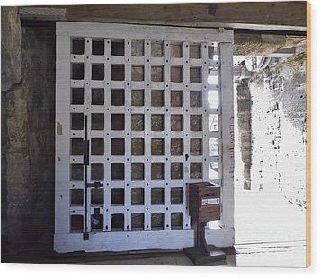 The Fort Door Wood Print