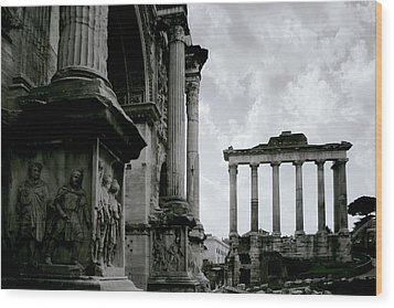 The Forum Wood Print by Warren Home Decor