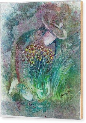 The Gardener Wood Print