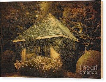 The Gatehouse Wood Print by Lois Bryan