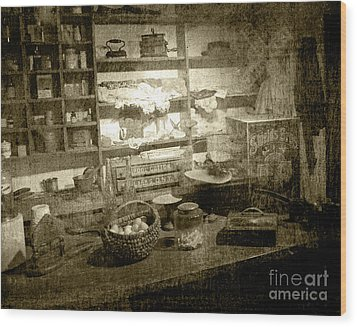Wood Print featuring the photograph The General Store by Pete Hellmann