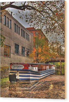 The Georgetown Wood Print