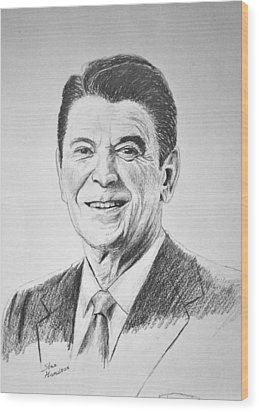 The Gipper Wood Print by Stan Hamilton