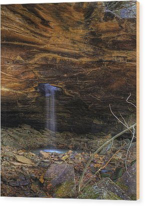 Wood Print featuring the photograph The Glory Hole by Michael Dougherty
