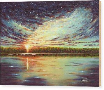 The Glory Of God Wood Print