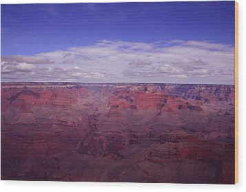 The Grand Canyon Wood Print by Christopher Kirby