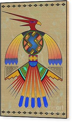 The Great Bird Spirit Wood Print