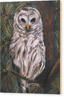 The Great Hunter Wood Print by Carol Sweetwood