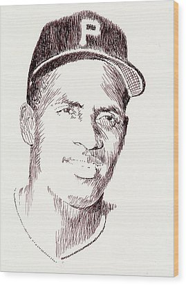 The Great One Wood Print by Robbi  Musser