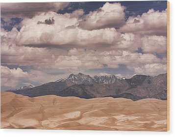 The Great Sand Dunes 88 Wood Print by James BO  Insogna