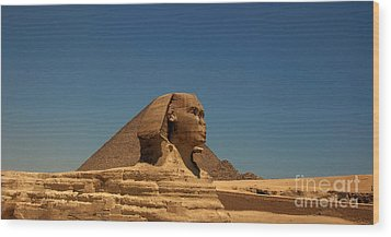 The Great Sphinx Of Giza 2 Wood Print by Joe  Ng