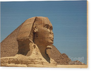 The Great Sphinx Of Giza Wood Print