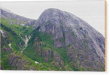 The Greene Hills In Alaska Wood Print