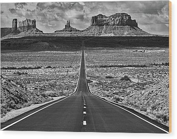 Wood Print featuring the photograph The Gump Stops Here by Darren White