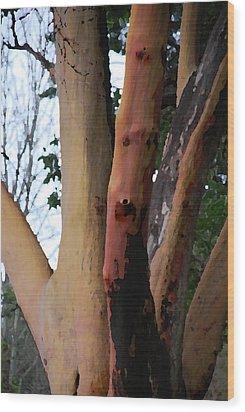 The Hand Wood Print