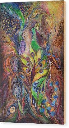 The Harvest Time Wood Print by Elena Kotliarker
