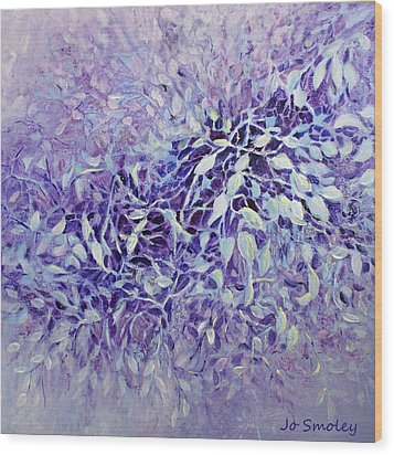 Wood Print featuring the painting The Healing Power Of Amethyst by Joanne Smoley