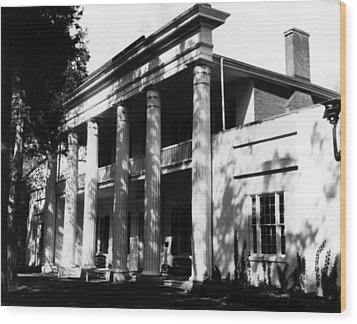 The Hermitage, Home Of President Andrew Wood Print by Everett
