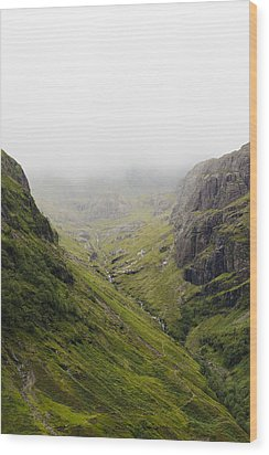 Wood Print featuring the photograph The Hills Of Glencoe by Christi Kraft