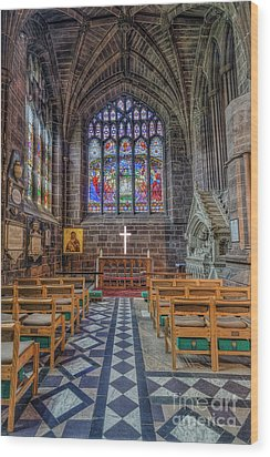 Wood Print featuring the photograph The Holy Cross by Ian Mitchell