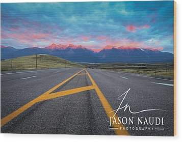 Wood Print featuring the photograph The Hours by Jason Naudi
