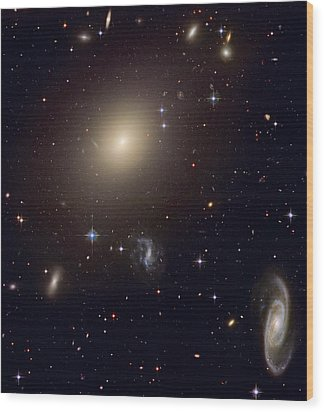 The Hubble Space Telescope Reveals An Wood Print by ESA and nASA