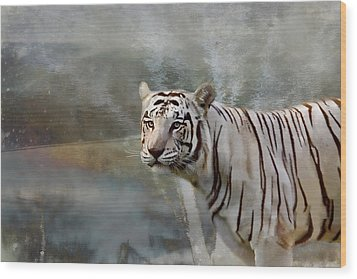 Wood Print featuring the photograph The Hunter by Gary Smith