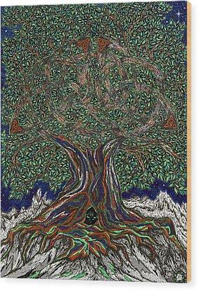 The Hunter's Lair Wood Print
