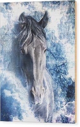 The Ice King Wood Print by Jamie Mammano