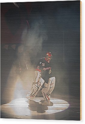 Wood Print featuring the photograph The Iceman Cometh by Ron Dubin
