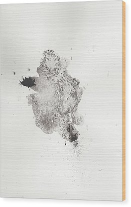 The Inexplicable Ignition Of Time Expanding Into Free Space Phase One Number 14 Wood Print by Mark M  Mellon