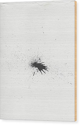 The Inexplicable Ignition Of Time Expanding Into Free Space Phase One Number 4 Wood Print by Mark M  Mellon