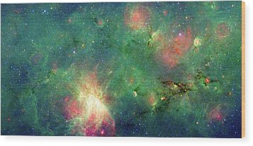 Wood Print featuring the photograph The Invisible Dragon by NASA JPL-Caltech