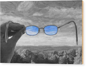 The Invisible Man 2 Wood Print