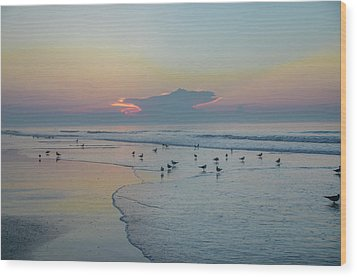 Wood Print featuring the photograph The Jersey Shore - Wildwood by Bill Cannon