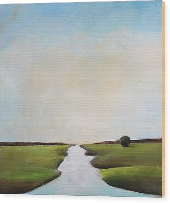 The Journey Wood Print by Toni Grote