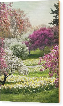 Wood Print featuring the photograph The Joy Of Spring by Jessica Jenney
