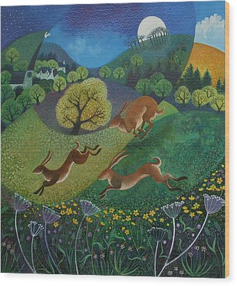 The Joy Of Spring Wood Print by Lisa Graa Jensen