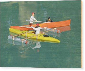 The Kayak Team 12 Wood Print
