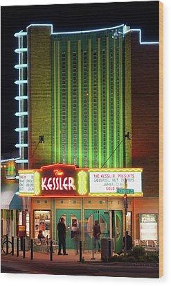 The Kessler V2 091516 Wood Print